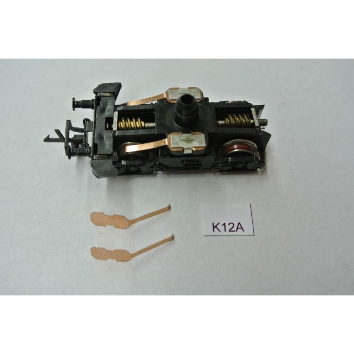 TT Kontakty K12A pro V180,V200,BR118,BR221, BTTB/ZEUKE,neoriginální,2ks,