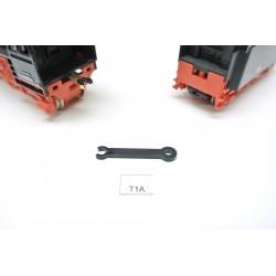 HO Plastový díl táhla T1A, pro BR01,BR41,BR03 (starší produkce PIKO),neoriginální