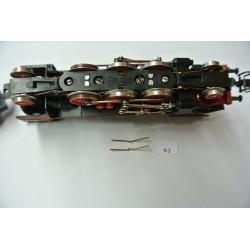 K3/TT-Kontakty pro hlavní kola BR23 ZEUKE,neoriginální,2ks
