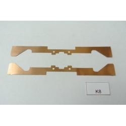 K8/TT Kontakty pro YM32,T435,V75, V107, BTTB/ZEUKE,,neoriginální,2ks