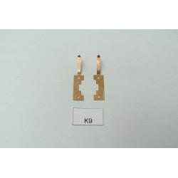 TT Kontakty K9 pro YM32,T435,V75,V107 BTTB/ZEUKE,neoriginální,2ks
