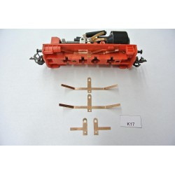 TT Kontakty K17 pro BR103,V36 BTTB/ZEUKE,neoriginální,4ks