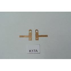 K17A/TT-Kontakty K17A pro BR103,V36 BTTB/ZEUKE,neoriginální,2ks