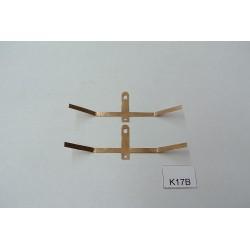 Kontakty K17B pro BR103,V36 BTTB/ZEUKE,neoriginální,2ks