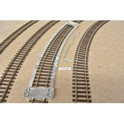 HO/PE/R438, Šablona pro pokládku flexi kolejí HO PECO,radius 438mm,1ks
