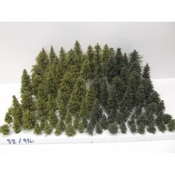 HO,TT Stromky,lesy, VÝPRODEJ, 3-17cm,ca 91ks (32)