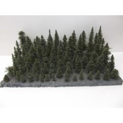 HO,TT,N Stromky,lesy, VÝPRODEJ, 3-17cm,ca 84ks (36)