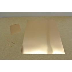 PP1B, PRUŽINOVÝ PLECH na výrobu kontaktů, 245x305mm / tl.0,10mm
