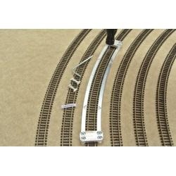 N/PE/R441, Šablona pro pokládku flexi kolejí PECO-N, radius 441mm, 1ks