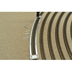 N/PE/R512, Šablona pro pokládku flexi kolejí PECO-N, radius 512mm, 1ks