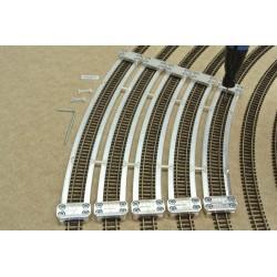 N/PE/SET/S, Šablony pro pokládku flexi kolejí PECO-N, doplňkový set, 5ks