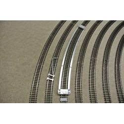 TT/T/R568, Šablona pro pokládku TT flexi kolejí TILLIG, radius 568mm, 1ks
