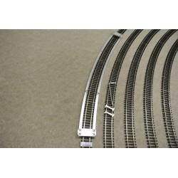 TT/T/R654, Šablona pro pokládku TT flexi kolejí TILLIG, radius 654mm, 1ks