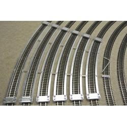 TT/T/SET/S, Šablony pro pokládku flexi kolejí TT TILLIG, Doplňkový set, 6ks (R439-R654)