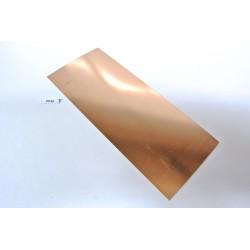 PP4A, PRUŽINOVÝ PLECH na výrobu kontaktů,75x180mm/0,20mm