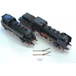 K63, Sada neoriginálních kontaktů pro lokomotivy HO PIKO, Gutzold (starší) BR 64, BR 24, 2ks