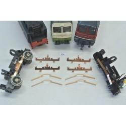 K54A, Sada neoriginálních kontaktů pro lokomotivy HO PIKO (starší) BR 01, BR 03, BR 41, BR 130, T 679, E 499, ES 499, 4ks