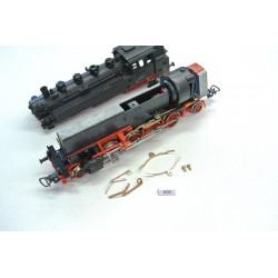 K60 - Kontakty pro loko BR 86 HO PIKO, neoriginální, 4ks + 2 nýty