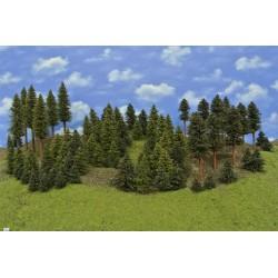 LES HO2, smrky, borovice, 3-20 cm