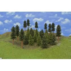 LES HO12, smrky, borovice, 7-17 cm