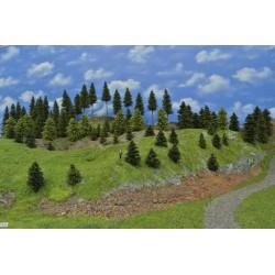 LES N4-smrky, borovice, modříny, 4-19 cm