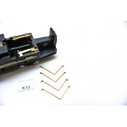 TT Kontakty K13 pro lokomotivy START, LVT171, VT 2.09,neoriginální,4ks