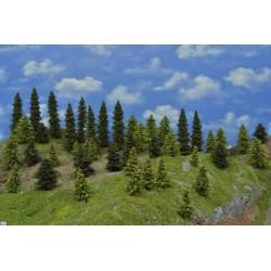 LES N20, smrky, borovice, modříny 3-17cm