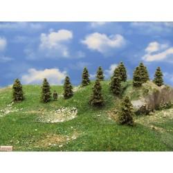 4S1HO-stromky,smrky,výška 4-5cm,30ks)