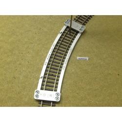 Šablona pro pokládku flexi kolejí HO ROCO LINE,radius 358mm,1St, HO/R/R358