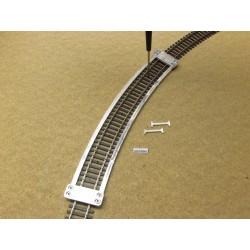 Šablona pro pokládku flexi kolejí HO TILLIG ELITE,radius 543mm,1ks,HO/T/R543