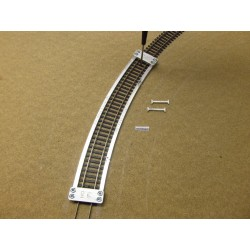 Šablony pro pokládku flexi kolejí PIKO,R545,6mm,1ks,HO/P/R545,6