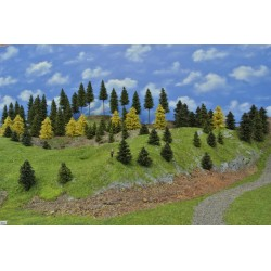 LES N5 ,smrky, borovice, modříny,3-19 cm