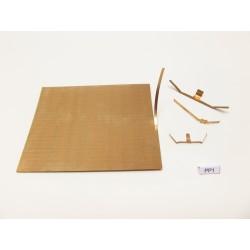 G,HO,TT,N-PRUŽINOVÝ PLECH na výrobu kontaktů,75x90mm/0,10mm,PP1