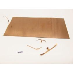 G,HO,TT,N-PRUŽINOVÝ PLECH na výrobu kontaktů,83x180mm/0,15mm,PP2A