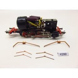 K29B/TT,Kontakty pro TT lok. BR81,82 ZEUKE ( kovový rám),6ks,neoriginální
