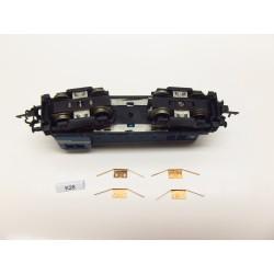 K28/TT-Kontakty pro TT lok. T435,V75 ZEUKE,neoriginální,4ks