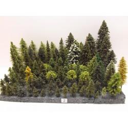 HO - Stromky,les, VÝPRODEJ,do 24cm,102ks (2)