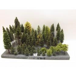 HO(TT)Stromky,les, VÝPRODEJ, 3-23cm,ca55ks (6)