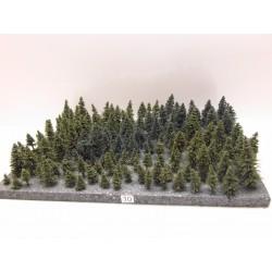 HO,TT,N Stromky,les, VÝPRODEJ, 3-8cm,ca122ks (10)