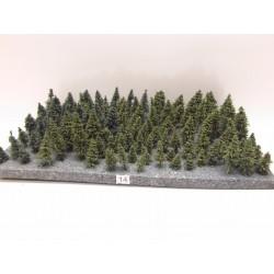 HO,TT,N,Stromky,lesy, VÝPRODEJ, 2-8cm,ca112ks (14)