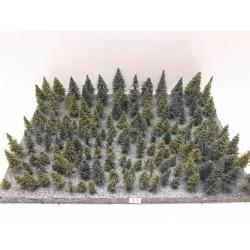 HO,TT,N,Stromky,lesy, VÝPRODEJ, 2-8cm,ca154ks (11)