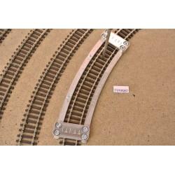Šablona pro pokládku TT flexi kolejí TILLIG,radius 267,0mm,TT/T/R267