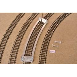 Šablona pro pokládku TT flexi kolejí TILLIG,radius 310,0mm,TT/T/R310