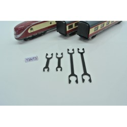T3A/N,Spojka krátká pro soupravu BR VT 11.5 (táhlo), 2ks