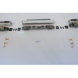 T7/SET/B2, Neoriginální nenaohýbané kontakty pro ICE soupravu N-Minitrix-krajní vozy, 6ks
