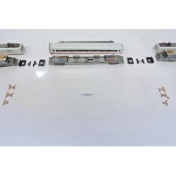 T7/SET/A2, Neoriginální naohýbané kontakty pro ICE soupravu N-Minitrix-krajní vozy, 6ks