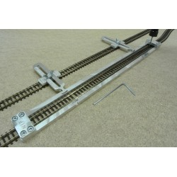Šablona rovná pro pokládku flexi kolejí FLEISCHMANN-N,délka 300mm,1ks, N/F/L300
