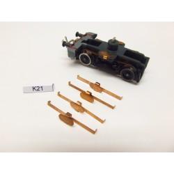 K21/TT Kontakty pro V180,V200 ZEUKE,neoriginální,4ks