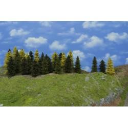 LES N18, smrky, borovice, modříny 3-13cm,45ks
