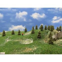 3S1TT-stromky,smrčky,výška 3-4cm,30ks